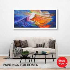 Paintings for living area